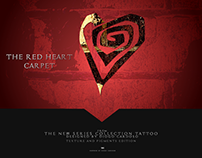 The Red Heart Carpet Tattoo