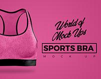 Sports Bra Mock Up - World of Mock Ups