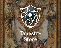Online shop tapestry, decor.