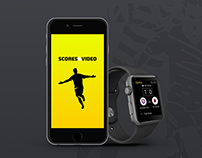 Scores&Video for Apple Watch