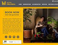 Hotel Finlandia Website Design and development, 2016