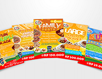 Fast Eddie Pizza leaflets