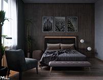 Bedroom : magic of shadow