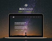 RocBand - UX, Web & Product Design