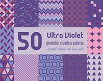 Ultra Violet Geometric Patterns