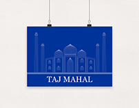 TAJ MAHAL ARTWORK