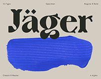 Jager Typeface