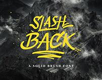 Slashback Typeface