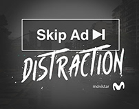 Skip ad distraction