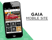 Gaia Mobile site