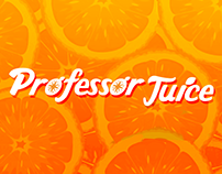 Channel Branding for Professor Juice
