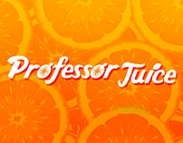 Channel Branding for Professor Juice