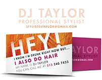 Business Cards with Swagger