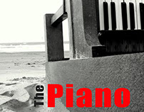 """The Piano"" Fan-Made Movie Poster"