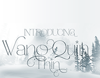 WANO QUIN - FREE FONT