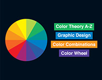 Color Theory A-Z । Graphic Design Color Combinations ।