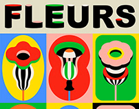 FLEURS - Pop art flowers