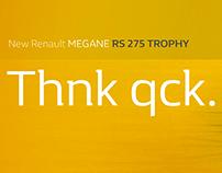 Renault Megane RS Billboards