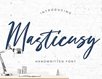 Masticusy Handwritten Font