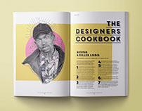 Computer Arts Magazine layout design