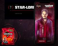 Doritos x Guardians of the Galaxy Website