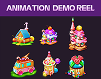 Animation Candy Connect Game
