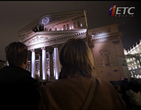 Light Festival 2014 - Bolshoi Theatre