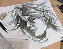 Pencil portrait #2