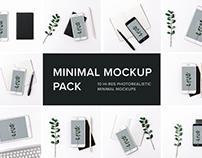 Minimal Creative Mockup Pack Photorealistic Psds