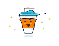 Happy Cup | Milkshake Cup Model | Design and Colours