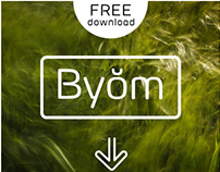Byŏm Free Typeface & Icon Set