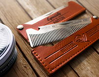 Butter Cut Metal Comb