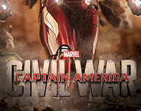 Captain America: Civil War Custom Promo Poster Series 2