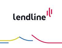 Lendline logo design