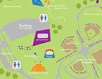 Healthy Kids Day Activities Map