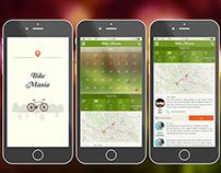 "Mobile App Design ""Bike Mania"""