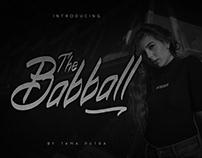 Babball Typeface (FREE)