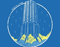 The Dunston Rocket T-Shirt Design