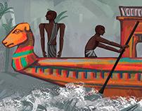 Ancient Egypt Cartoons