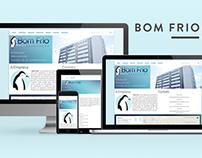 Bom Frio Climatização - Responsive Theme for WordPress.