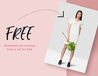 FREE | Tropic Women's Dress Mockup