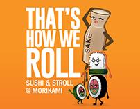 Sushi & Stroll