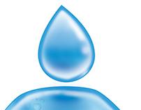 Hombre agua