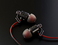 Carbon Fiber Earphones