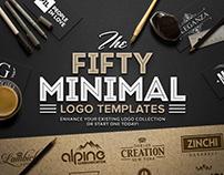 50 Minimal Logo Templates