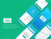 Mobile Ticketing UI APP