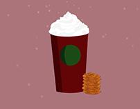 Starbucks Motion Graphic