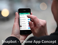Snapbot - iPhone App UI/UX Concept