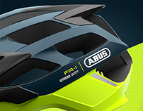 ABUS HELMETS REDESIGN COLOR & GRAPHICS