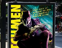 Watchmen Rorschach Poster